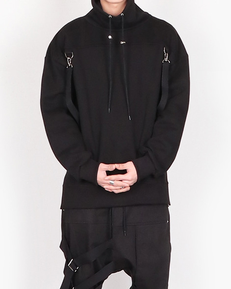 Belt loop turtleneck